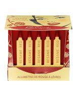 Besame Cosmetics Classic Color Lipstick Matches (Besame Red)