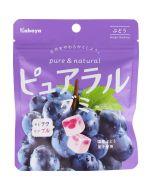Kabaya Pureral Gummy Candy Grape 58g