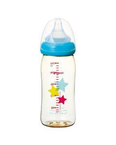 Pigeon Breast Feeding Baby Bottle Star Pattern PPSU 240ml