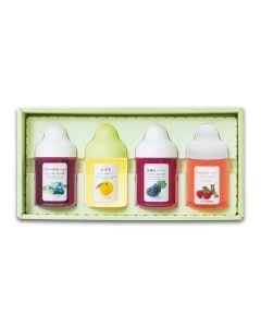 Sugi Bee Garden Fruity Honey Gift Set (4 Flavors)