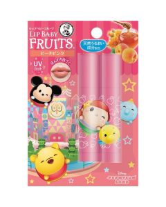 ROHTO MENTHOLATUM x Disney Tsum Tsum Lip Baby (Peach Pink)