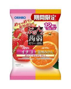 ORIHIRO Konjac Jelly (Strawberry & Orange) - Limited Edition