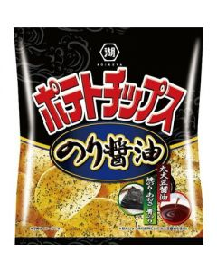 Koikeya Seaweed Soy Sauce Potato Chips 50g