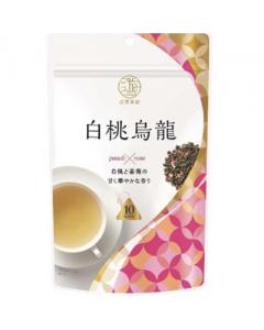 Nitto Tea Mitsui Meicha Oolong Tea White Peach Flavor (10 Bags)