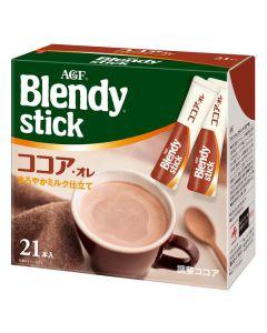 AGF Blendy Stick COCOA AU LAIT (21 Sticks)