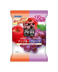 ORIHIRO Konjac Jelly (Apple & Grape)