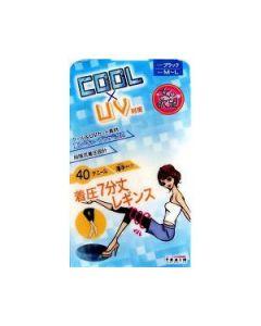 TRAIN Onna No Yokubo Cool x UV Tights 40den Black