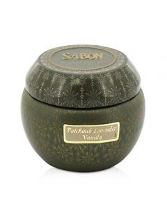 SABON Tin Scented Candle (Small) - Patchouli Lavender Vanilla