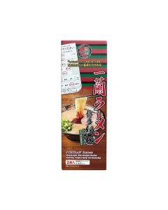 Ichiran Tonkotsu Ramen Hakata Thin Noodle Straight with Ichiran's special red secret powder (2 meals)