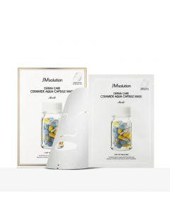 JM Solution Derma Care Ceramide Aqua Capsule Mask (10pcs)