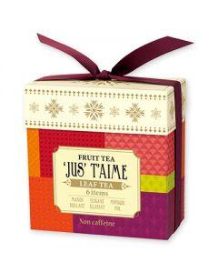 LUPICIA 'JUS' T'AIME Fruit Tea Leaf Tea 6 item Box