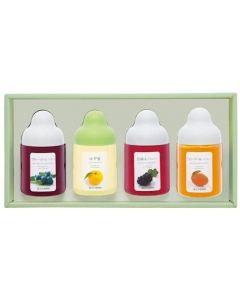 Sugi Bee Garden Fruity Honey Gift Set (4 Flavors) MG4P