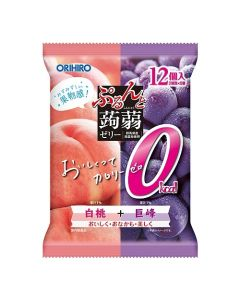 ORIHIRO Konjac Jelly (Peach & Kyoho Grape)