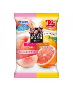 ORIHIRO Konjac Jelly (Peach & Pink Grapefruit)