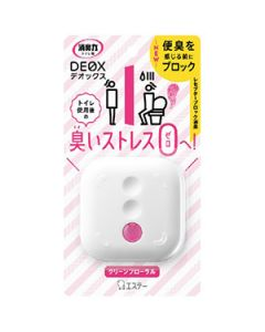 S.T. Corporation DEOX Deodorizer for Toilet 6ml Pink Floral Scent