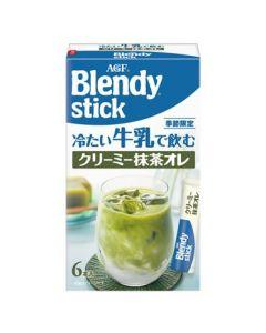AGF Blendy Stick Ice Creamy Matcha Au Lait (6.5g x 6 pcs)