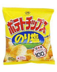 KOIKEYA Norishio Seaweed Salt Potato Chips 60g