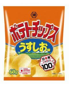 KOIKEYA Mizuumichiya Usushi Potato Chips 60g