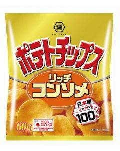 Koikeya Consomme Soup Potato Chips 60g