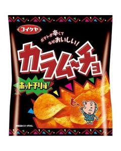 Koikeya Karamucho Potato Chips (Hot Chili) 55g