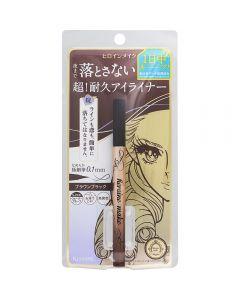 KissMe Heroine Makeup prime liquid eyeliner rich keep 02 Brown Black