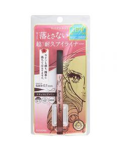 KissMe Heroine Makeup prime liquid eyeliner rich keep 03 Natural Brown 0.4mL