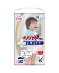 elleair GOO.N Plus Pants L 44pc (Japan Domestic Version) (Ship to US and Canada Only)