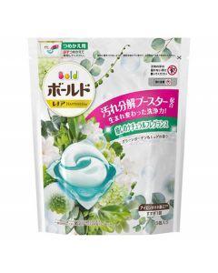 P&G Japan Bold Gel Ball Green Garden Muguet Aroma Refill (15 Pcs)
