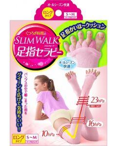 Slim Walk Toe Therapy All Season Long Type S-M(Pink)