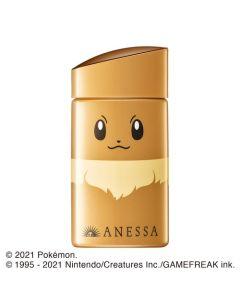 SHISEIDO ANESSA Pokémon Limited Eevee UV Sunscreen Aqua Booster SPF 50+ PA++++ 60ml