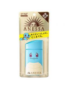 SHISEIDO ANESSA Pokémon Limited Squirtle UV Sunscreen Aqua Booster SPF 50+ PA++++ 60ml