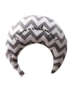ATEX Lourdes Heating Massage Neck Pillow (Gray)