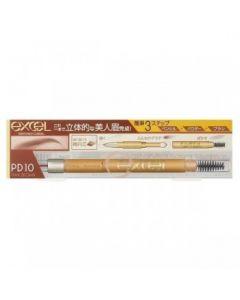 Excel Powder & Pencil Eyebrow Ex (PD10 Pink Brown)