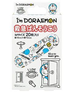 Skater x I'm Doraemon Band Aid 20 pcs
