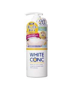 White Conc Body Shampoo 600ml
