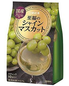 Nitto Tea Blissful Shine Muscat green grapes 10 pcs