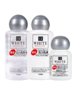 DAISO ER White Medicated Whitening Set (Lotion/Milky Lotion/Whitening Essence)
