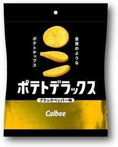 Calbee Potato Deluxe Blackpepper Flavor 50g