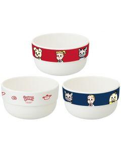 Skater Osamu Goods Snack Bowl Set of 3