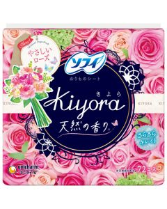 Unicharm SOFY KIYORA Floral Scented ultra thin slim Pantiliner (72pcs)