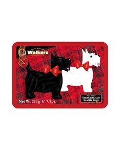 Walkers Scottie Dog Short Bread Tin - 7.8oz