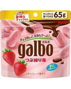 MEIJI Galbo Tsubu-neri Strawberry Pouch 65 g