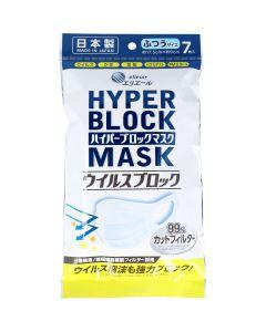 elleair Hyper Block Mask (7pcs)