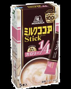 Morinaga Instant Milk Cocoa No Sugar (10g x 5sticks)