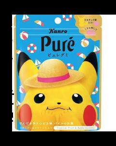 Kanro x Pokémon Pure Gummy Tropical Flavor 56g (Style Randomly Selected)