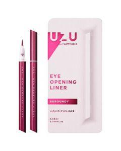 Flowfushi UZU Eye Opening Liner Liquid Eyeliner (Burgundy)