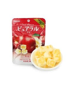 Kabaya Pureral Gummy Candy Apple 45g