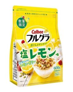 [2021 Limited Edition] Calbee Fruit Granola 600g (Salt Lemon Flavor)