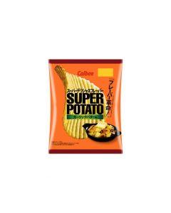 Calbee Super Potato Chips Garlic Butter Flavor 56g