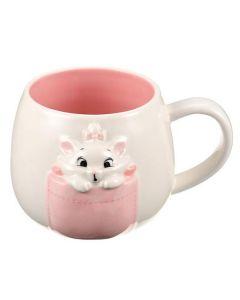 Sunart x Disney Aristocats Marie 3D Pocket Ceramic Mug 300ml